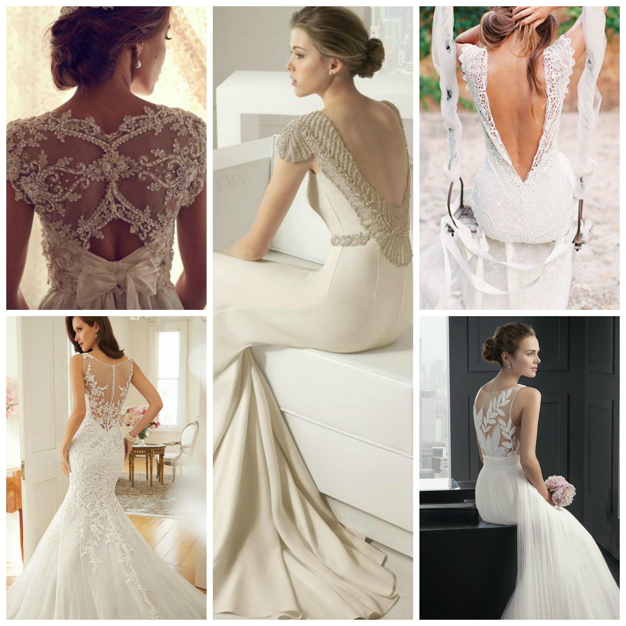 Back Details Wedding Dresses Images
